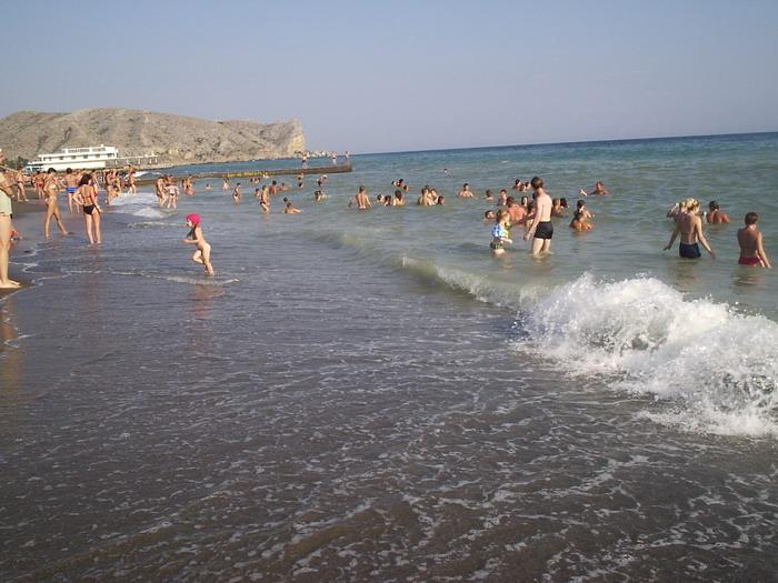 фото пляжей судак крым